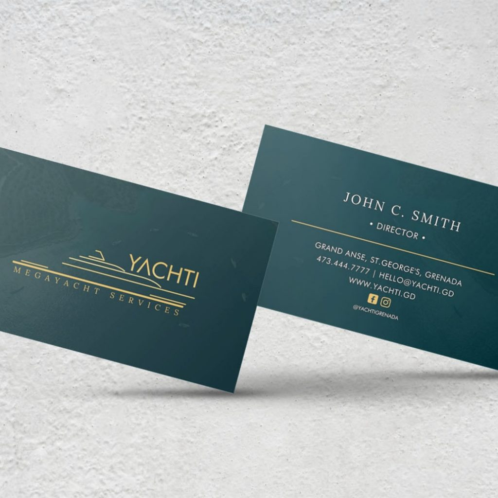 Yachti business cards